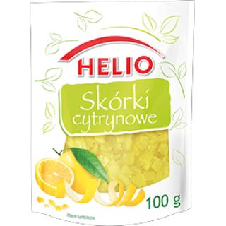 Skórki cytrynowe 100 g Helio