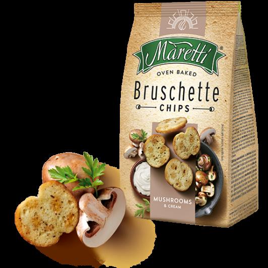 Maretti bruschette MUSHROOMS Pilze