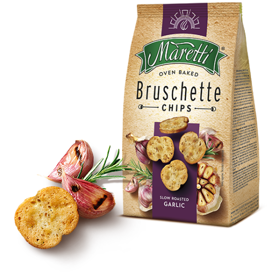Maretti bruschette knoblauch slow cooked garlic