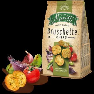 Maretti bruschette mediterraniean vegetables vegetarisch Gemuese