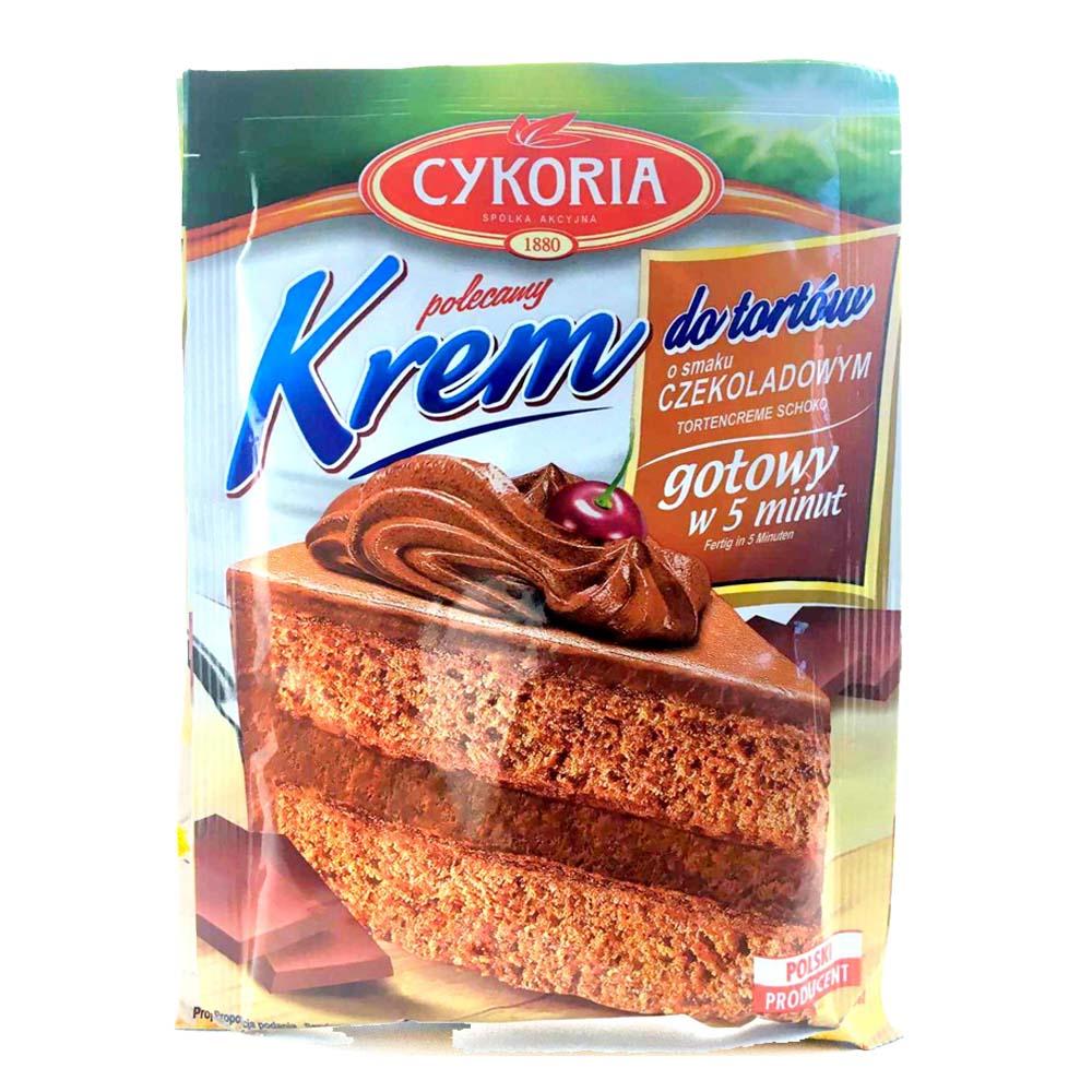 cykoria krem do tortow czekoladowy