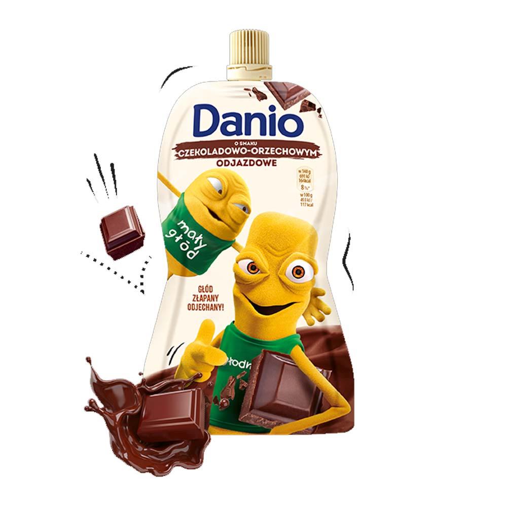 danio duze czekoladowo orzechowe