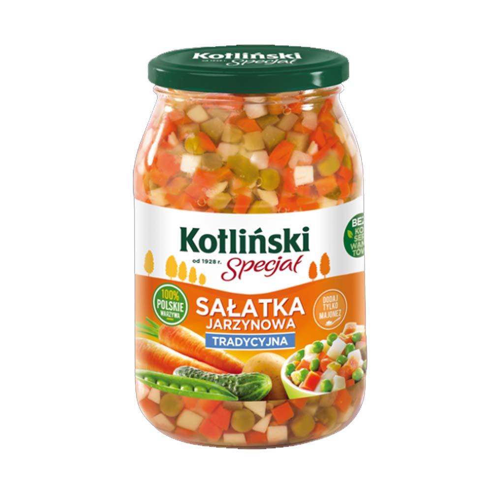 kotlinski salatka jarzynowa tradycyjna