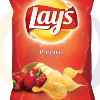 lay s paprika chips 140g