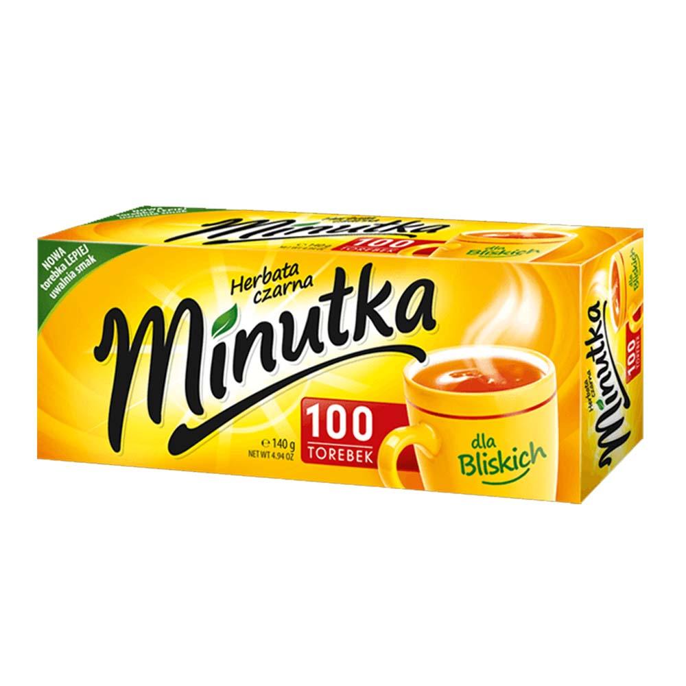 minutka herbata czarna torebki