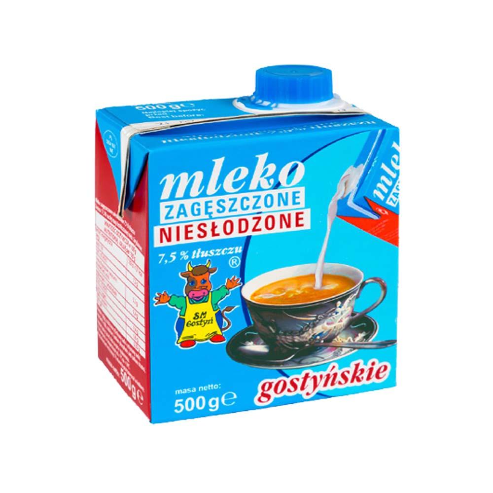 mleko zageszczone nieslodzone gostynskie