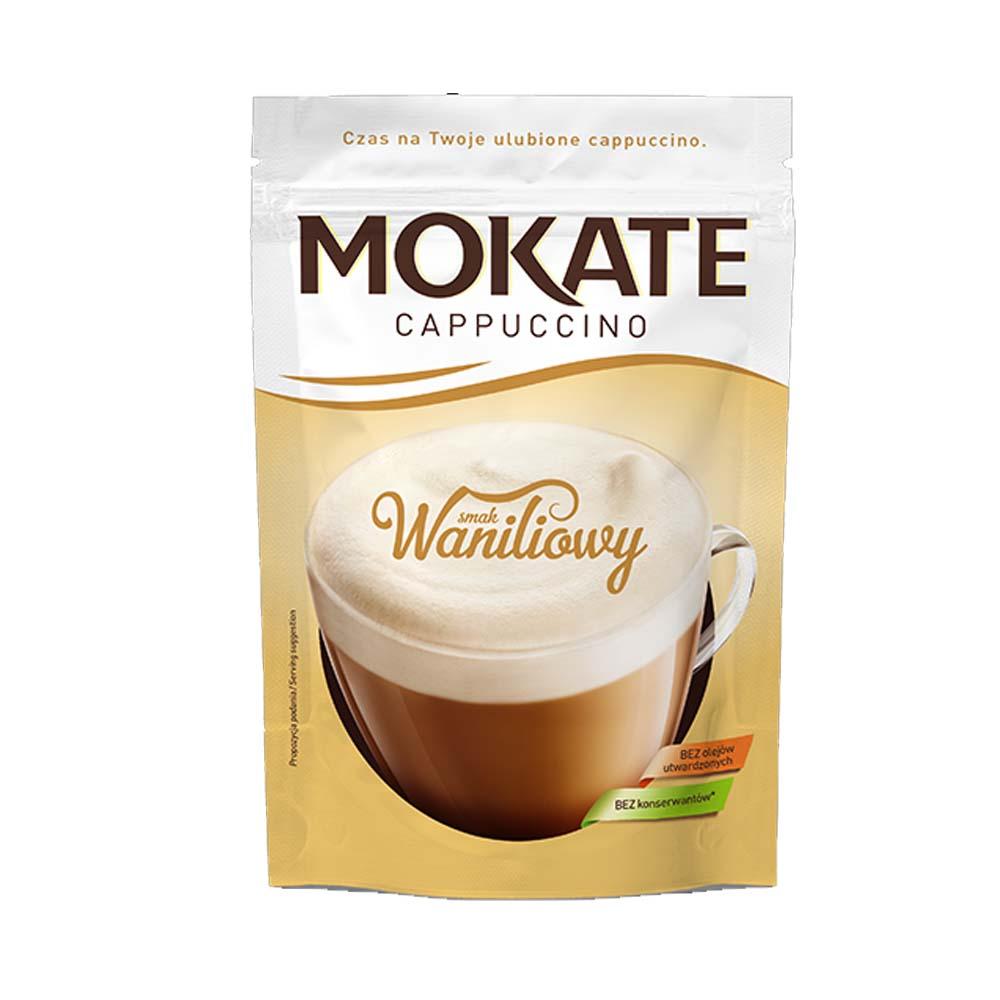 mokate cappuccino waniliowa