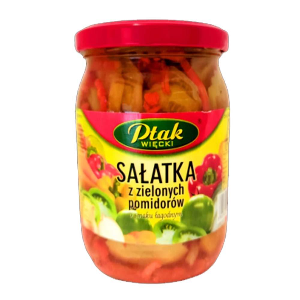 ptak salatka z zielonych pomidorow