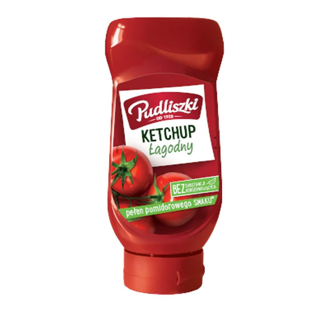 pudliszki ketchup lagodny