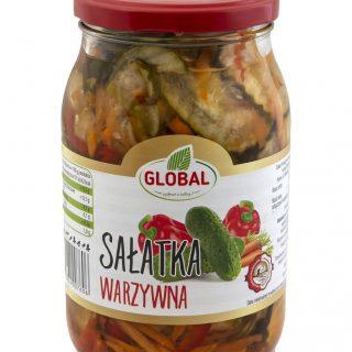 salatka warzywna global