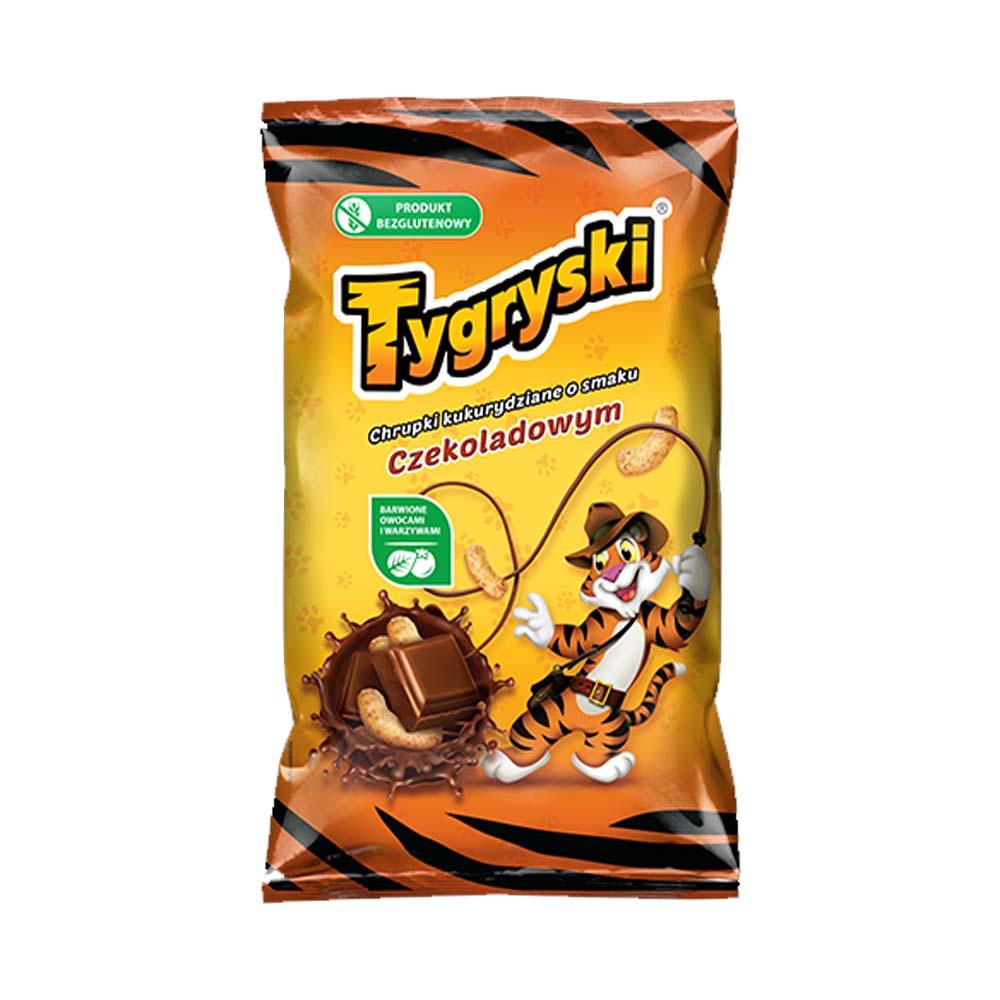 tygryski czekoladowe