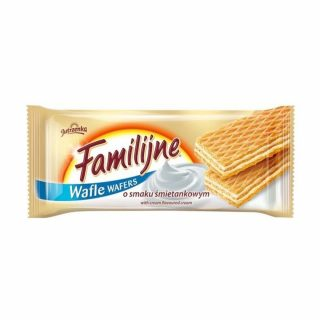 wafle familijne smietankowe