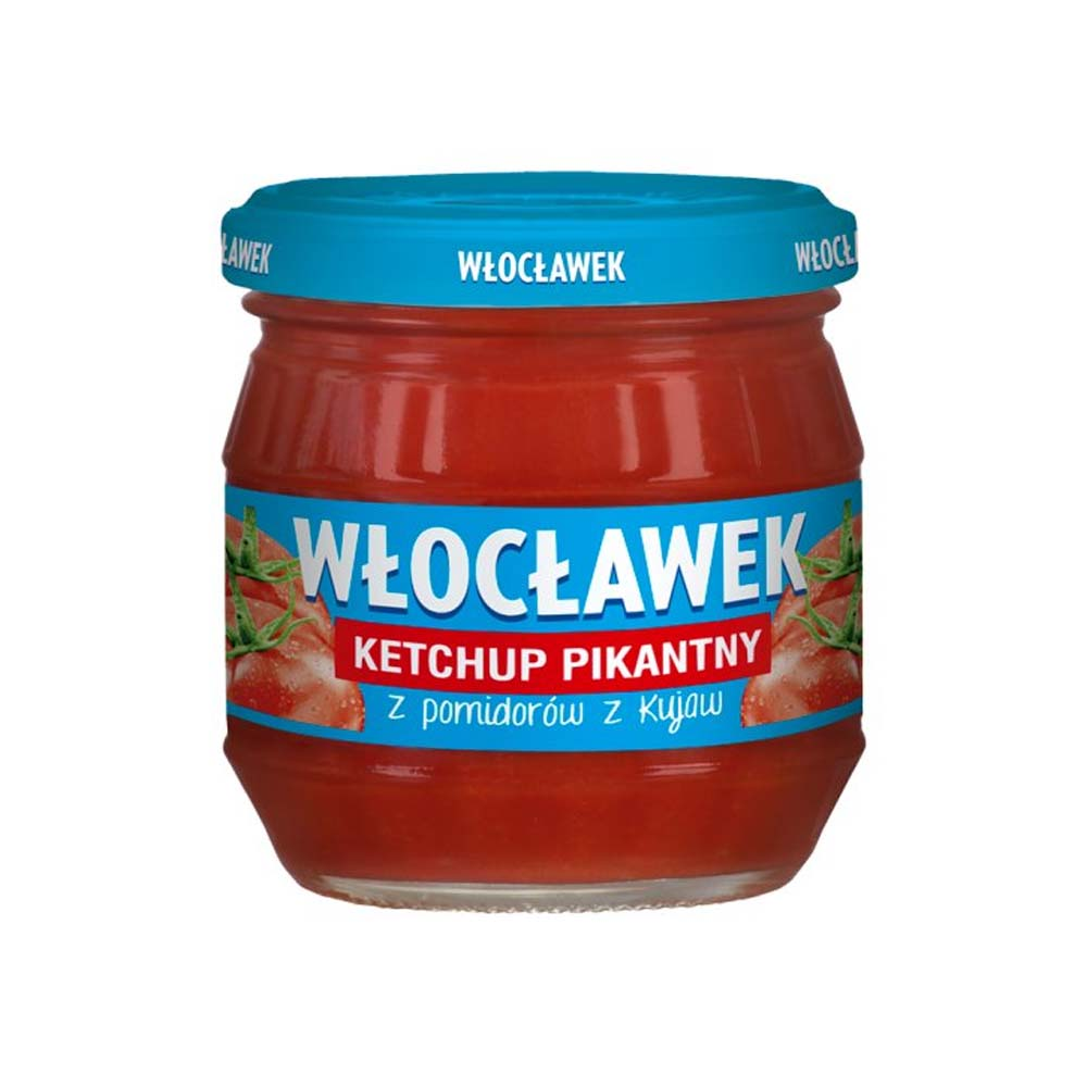 wloclawek ketchup pikantny