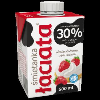 Sahne 30 % Łaciaty 500 ml