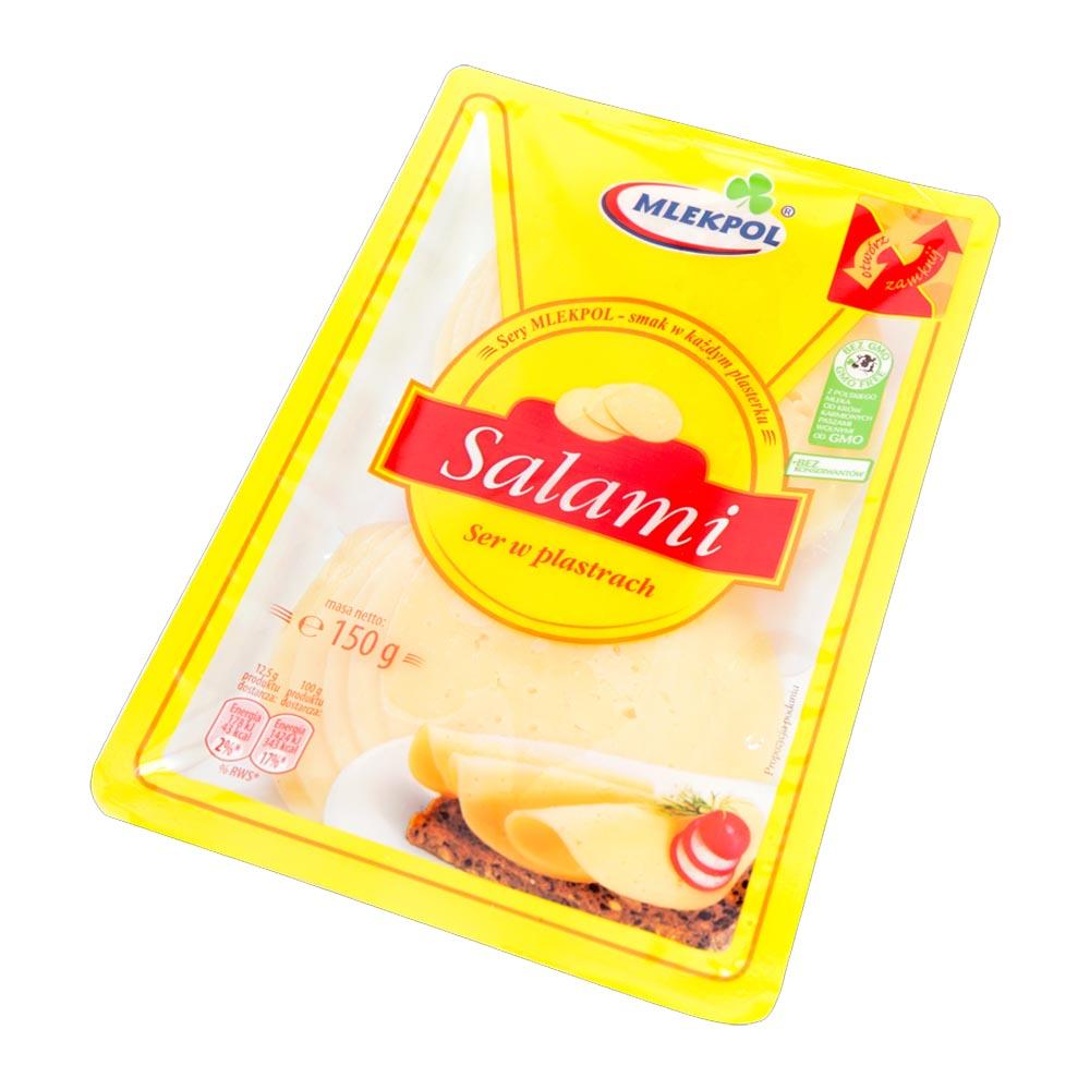 mlekpol salami ser