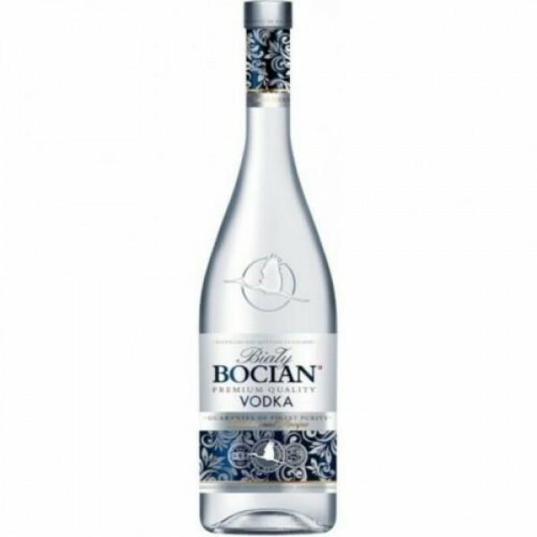 Weißstorch Bocian Vodka aus Polen 1000 ml