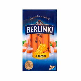 Berlinki kielbaski z serem