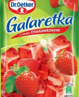 Galaretka truskawkowa 1 1