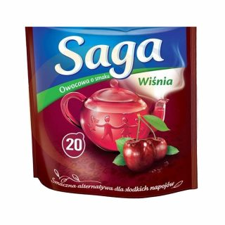 Saga herbata torebki wisni