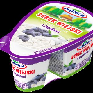 Serek wiejski z jagodami 150 g