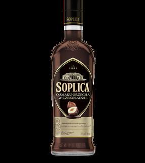 Soplica haselnuss in Schokolade