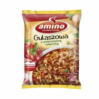 amino gulaszowa z wieprzowina i papryka