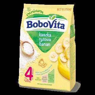 bezmleczna kaszka ryzowa banan