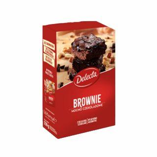 brownie delecta mocno czekoladowe