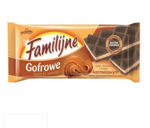 familijne wafle karmel