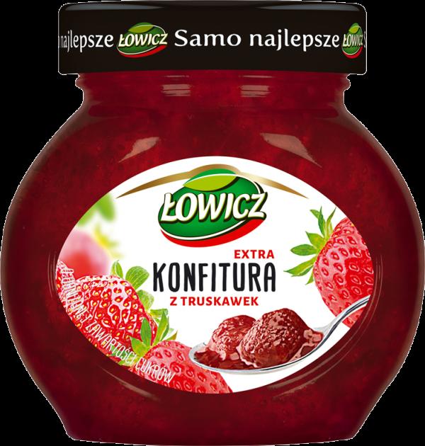 lowicz konfitura truskawka