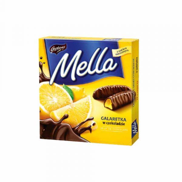 mella galaretka w czekoladzie
