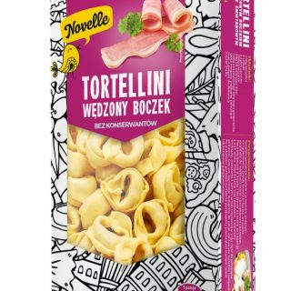 novelle tortellini boczek