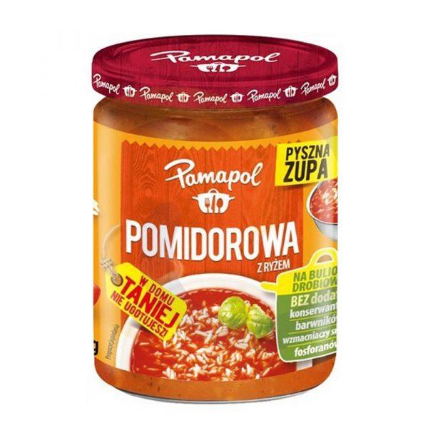 pamapol pomidorowa z ryzem