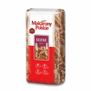polskie makarony razowy