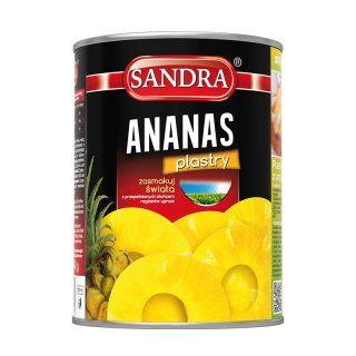 sandra ananas plastry