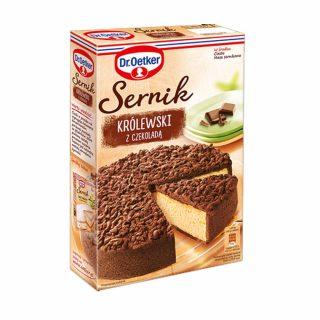 sernik krolewski z czekolada