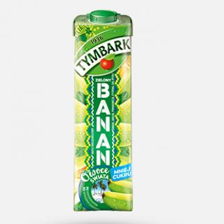 tymbark banan zielony