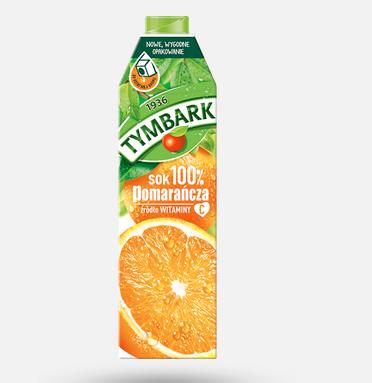 tymbark pomarancza 100