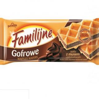 wafle familijne czekolada