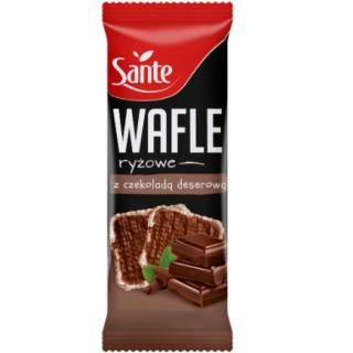 wafle w czekoladzie sante