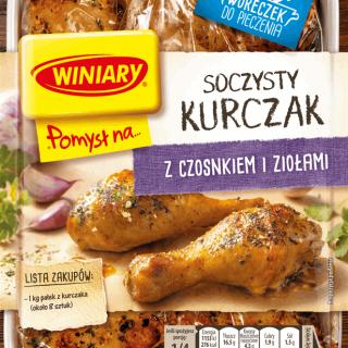 winiary pomysl na kurczak czosnek