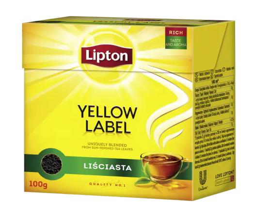 yellow label lipton