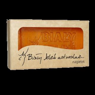 bialy jelen naturalne mydlo nagietek