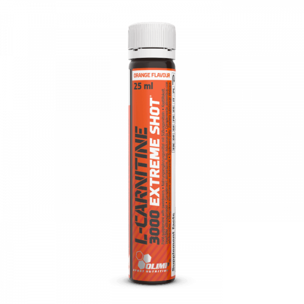 l carnitine 3000 extreme shot 25 ml ampoule