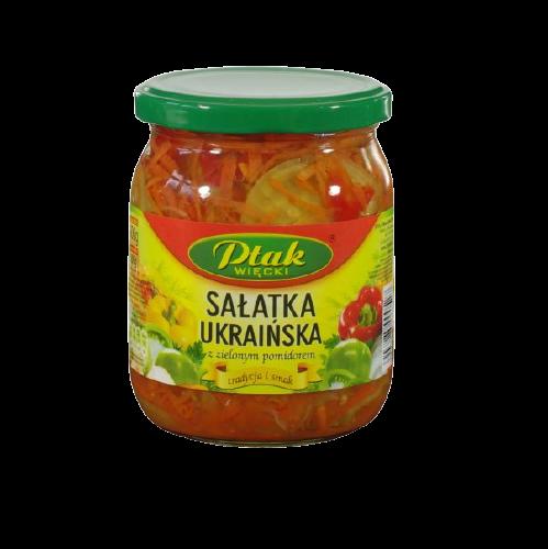 salatka ukrainska ptak