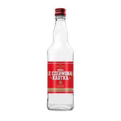 wodka z czerwona kartka 500ml