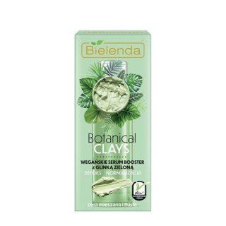 BOTANICAL CLAYS Weganskie serum booster z glinka zielona