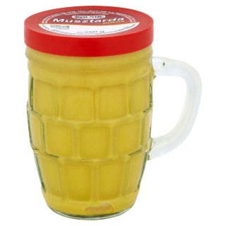 Rolnik musztarda piwna im Bierglas senf