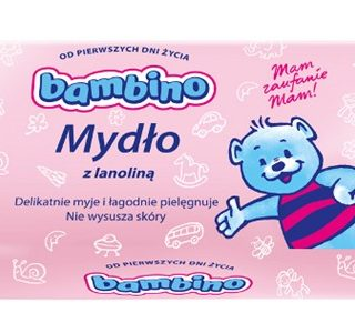 bambino mydlo z lanolina 90g