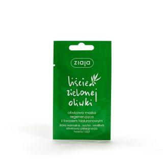 liscie zielonej oliwki oliwkowa maska regenerujaca z kwasem hialuronowym
